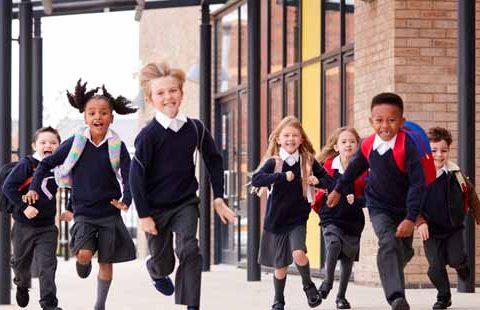 Techer recruitment- children running