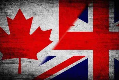 Career Teaching- Canada and UK Flag